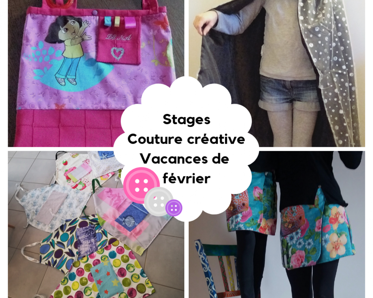 stages couture vacances